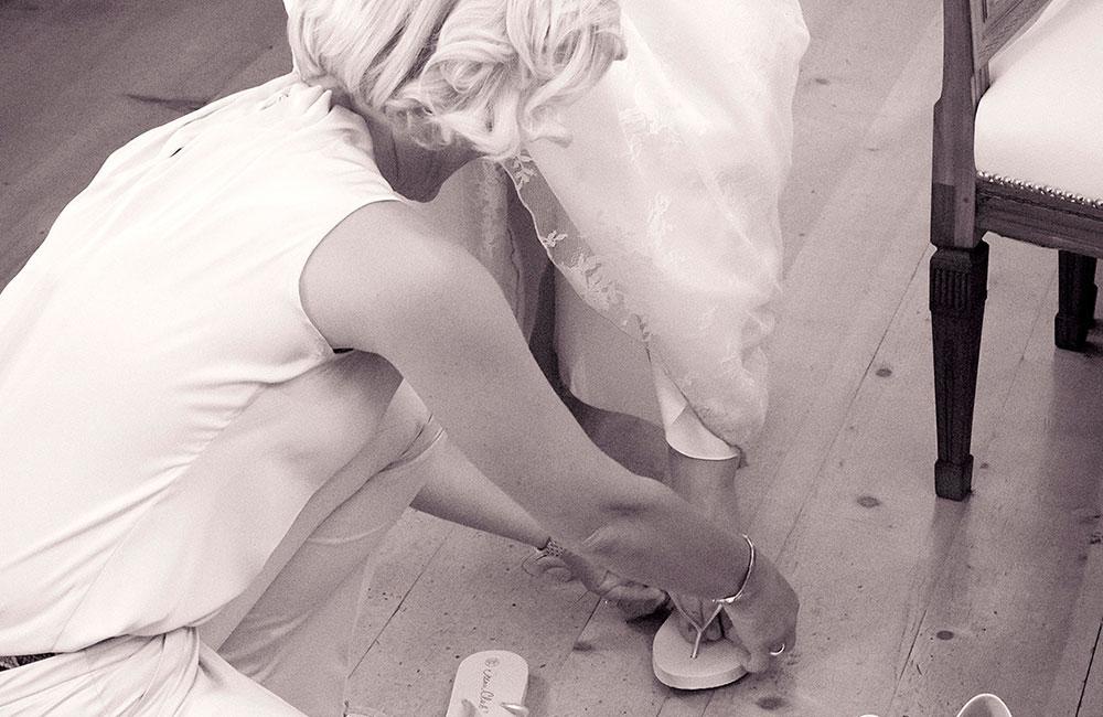 Wenn der Schuh drückt